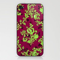 Vintage Wallpaper No.4 Phone Skin by Romi Vega | Society6