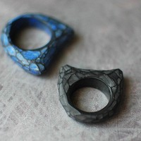 Fragment Ring in Black