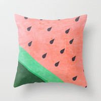Tropicalia Throw Pillow by Cake Store | Society6