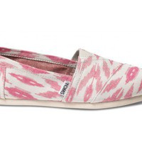 Pink Ikat Women&#x27;s Vegan Classics | TOMS.com