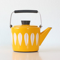 Cathrineholm Yellow Teapot - Lotis Pattern