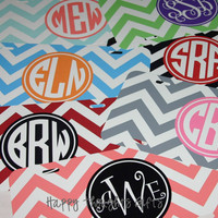 Personalized Chevron License Plate - Customize your colors and design