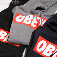 Obey sweatshirt jumper pullover hoody