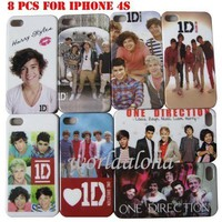8pcs One Direction Hard ...