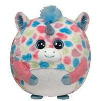 Amazon.com: Ty Beanie Ballz Fable Unicorn Plush: Toys &amp; Games