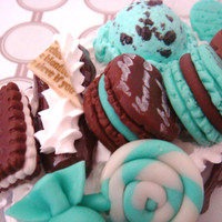 Minty Chocolate iPhone 4G/4S Case by GuiltyFreeCandy on Etsy
