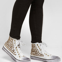 Penny Sue Studded Corporal High Top Sneaker