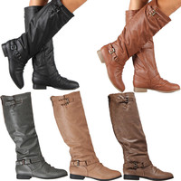 Womens Riding Boots Knee...
