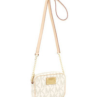 MICHAEL Michael Kors  Jet Set Signature PVC Crossbody - Michael Kors