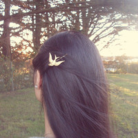 Bird Bobby Pin by dreamsbythesea