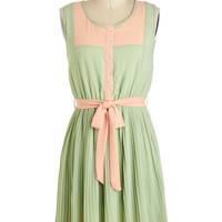 Urban Garden Party Dress in Sage | Mod Retro Vintage Dresses | ModCloth.com