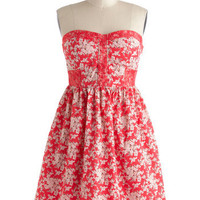 Rose Colored Classes Dress | Mod Retro Vintage Dresses | ModCloth.com