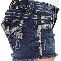 Miss Me Frayed Stretch Short - Women&#x27;s Shorts | Buckle