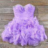 Spool Couture Wild Lavender Dress, Sweet Women&#x27;s Party Dresses