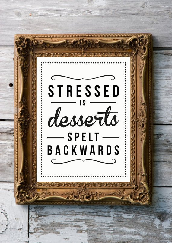 Retro Art Print by RockTheCustardPrints - Stressed Desserts