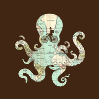 $16.00 All Around The World Art Print by Enkel Dika | Society6