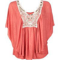 FULL TILT Wood Bead Womens Circle Top 187416313 | SALE | Tillys.com