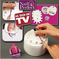 "NEW HOT ITEM Nail perfect nail art polishing tool ""Perfect solution for salon perfect beautiful nails every time"