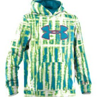 Under Armour Girls' Storm Printed Big Logo Hoodie - Dick's Sporting Goods