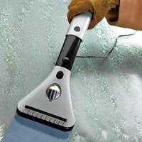 Electric Windshield De-Icer, Car Ice Scraper | Solutions