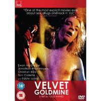 Velvet Goldmine [DVD]: Amazon.co.uk: Jonathan Rhys Myers, Toni Collette, Holly Davidson, Ewan Mcgregor, Jonathan Rhys Meyers, Christian Bale, Eddie Izzard, Emily Woof, Michael Feast, Todd Haynes, James Lyons: Film & TV