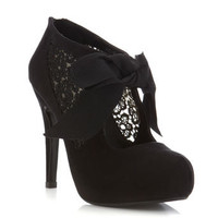 Sally Black Town Shoe - View All  - New In