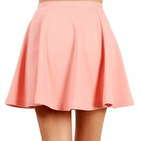 Blush Skuba Skater Skirt