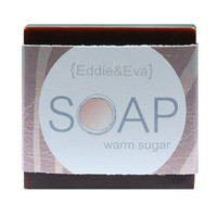 Delicious and sweet!   This Warm Sugar Soap is made in our original recipe.   The fragrance has the sweetness of sugar, with notes of vanilla, sandalwood and musk!   It's like cotton candy for grown ups!