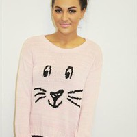 NEW LOOK Cute Bunny Rabbit Knit Jumper from Boutique 73