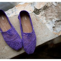 Purple Crochet Women's Classics FREE Shipping | TOMS.com