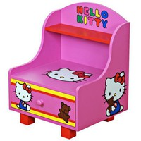 Hello Kitty Side Table - #W6844 | LampsPlus.com