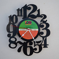 Vinyl Record Album Wall Clock (artist is Phil Collins)
