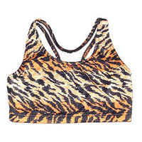 Tiger Pattern Bra Top