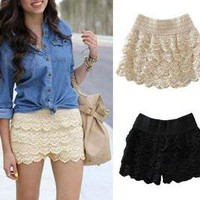 Vixen Boutique — Lace Shorts