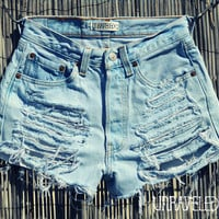 Levis Shorts XXSMALL by UnraveledClothing on Etsy