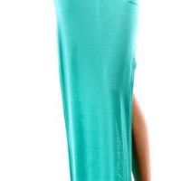 High Waist Style Me Cut Out Skirt - MINT  Tanny&#x27;s Couture LLC