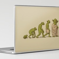 Yodalution Laptop &amp; iPad Skin by Terry Fan | Society6
