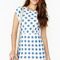 Ozzie Gingham Dress