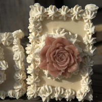 Wedding Favor large Rose Flower Soap Set of 6 by WeddingFavors