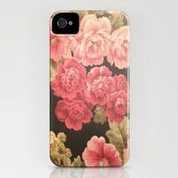 Floral iPhone Case by kangarooster | Society6