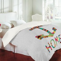 DENY Designs Bianca Green You Make Me Home Duvet Cover