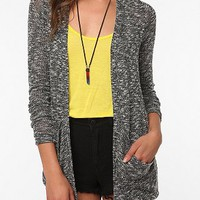 Sparkle &amp; Fade Drape Pocket Cardigan