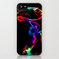 Smoke Art 82 iPhone Case by Steve Purnell | Society6