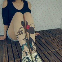 Vixen Boutique — Minnie Mouse Tights