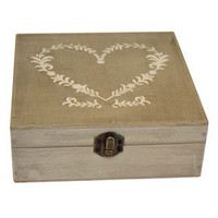 Classic Elegance Collection Heart Trinket Box | Dunelm Mill