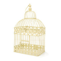 Room In Bloom Cream Birdcage | Dunelm Mill