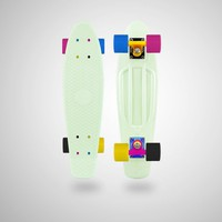 MyPenny Custom Plastic Penny Skateboard - CMYK Glow in the Dark