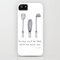 the whisk wasn't the tallest iPhone Case by Marc Johns | Society6