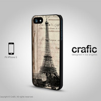 iPhone 5 Case - Vintage Paris iPhone 5 Case