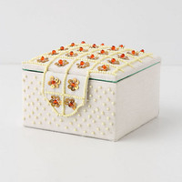 Lattice Lily Jewelry Box